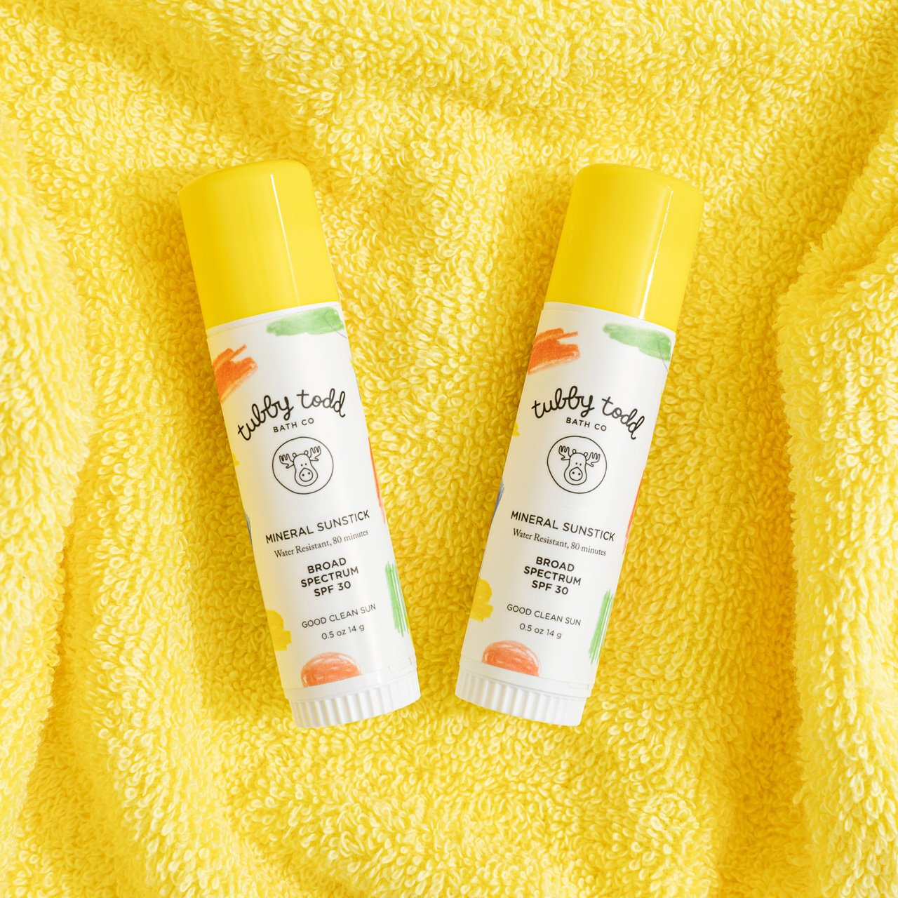maisonette-sunstick-duo-two-yellow-towel